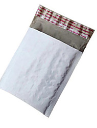blanco de 18 * 16 cm pe burbuja de plástico envolvente expresar para la bolsa de embalaje de transporte (30pcs)
