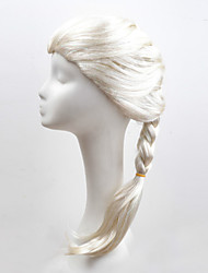 Europe And The United States Cartoon Wig Ice Colors Elsa Modelling Wig