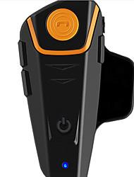 1000 meter motorhelm intercom headset bluetooth draadloze kabel waterproof fm muziek bt-s2