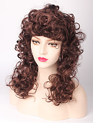 Popular Afro Hair Fluffy Wigs European and American Long Curly Wigs