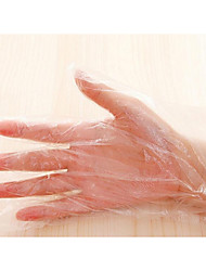 Disposable Gloves Plastic Dishes Catering Beauty Essential Disposable Gloves 100 Loaded