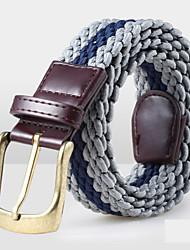 Unisex Canvas Waist Belt,Vintage / Party / Work / Casual Alloy D6B1P514
