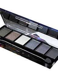 6 Colors EyeShadow Nude Comestic Long Lasting Beauty Makeup