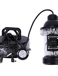 CCTV 50 Meter 360 Grad 18pcs LED Unterwasserfischen Videokamera Fisch-Finder-Videokamera