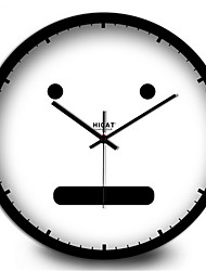 The Lovely Face Of The Modern Decorative Villain Home Furnishing Mute Quartz Wall Clock