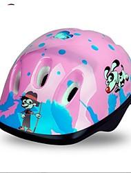 Capacete(Vermelho / Rosa / Preto / Azul,EPS) -Montanha / Estrada / Esportes-Crianças / Unisexo 6 AberturasCiclismo / Ciclismo de Montanha