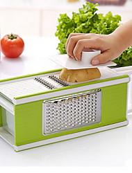 1 pièces Peeler & Râpe For Pour légumes / Pour Fruit Acier Inoxydable Creative Kitchen Gadget / Haute qualité
