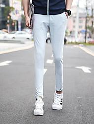 Zhuo wolf nine pants men's casual pants summer BOYS PANTS Korean slim pants tide 9 K2620