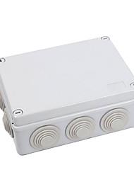 190 * 140 * 70 Waterproof Junction Box Cartridge Rubber Plug Cable