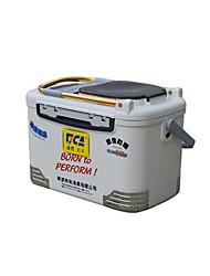 DIJIA Коробки для рыболовных снастей Коробка для рыболовной снасти Многофункциональный 1 Поднос 52*30*33 Жесткие пластиковые