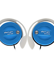 DANYIN DX139 Headphones (Earhook)For Media Player/Tablet / Mobile Phone / Computer with Microphone / DJ / Volume Control