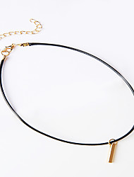 Necklace Necklace/Ring Jewelry Black Nylon Daily / Casual 1pc Gift