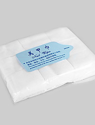 900pcs White Cotton Nail Remover Wipe Soft