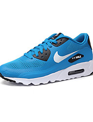 Nike Air Max 90 Men's Shoe Sneakers Athletic Running Shoes Blue White Grey Black