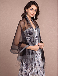 Women's Wrap Shawls Sleeveless Silk More Colors Wedding / Party/Evening / Office & Career / Casual TasselsOpen