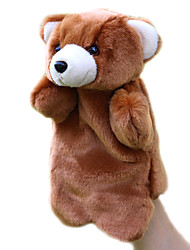 Teddy Bear Puppet Plush Toy Doll Small Animal Finger Puppets Children Preschool Appease Bear
