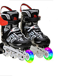 Unisex Athletic Shoes Motorcycle Boots Rubber Hook & Loop Black Blue Pink Red Skate Shoes