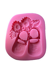 Baby Shoes Silicone Cake Mold  SM-519