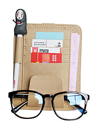 Beig Multifunctional Glasses Clip Bill Goods Sunshade