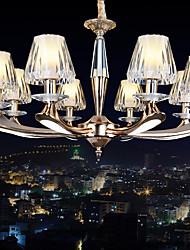 3 Lustres ,  Contemprâneo / Retro Dourado Característica for Cristal / LED MetalSala de Estar / Quarto / Sala de Jantar / Quarto de