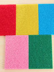 (cor aleatória) 10 pcs / set cor altamente eficientes panos de cozinha lavagem pano de limpeza forte de descontaminação