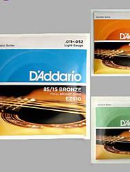 New Addario Acoustic Guitar Strings