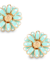 Fashion Elegant Personality Flower Daisy Stud Earrings