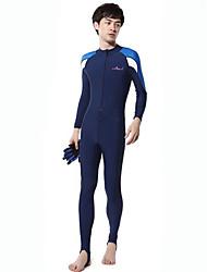 Autres Femme / Homme Combinaisons Tenue de plongée Compression Costumes humides 2.5 à 2.9 mm Bleu S / M / L / XL Plongée