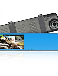 "5.0 ""Dual Camera Car Dvr + Rearview Mirror + Rear View Camera + Radar Detector Dash Cam G-Sensor HD 1080P 140 Degree"