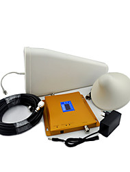 LCD Display GSM 900mhz DCS 1800mhz Mobile Phone Signal Booster Log Periodic Antenna / Ceiling Antenna with Cable