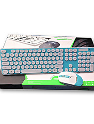 Sans Fil USB Clavier & Souris pour Windows 2000/XP/Vista/7/Mac OS