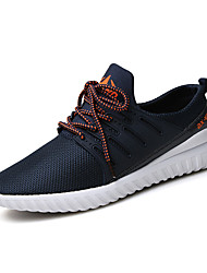 Men's Shoes Casual Fabric Fashion Sneakers Running Shoes Black/Blue/Grey