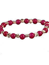 Strand Bracelets 1pc,Red Bracelet Fashionable Circle  Crystal Jewellery