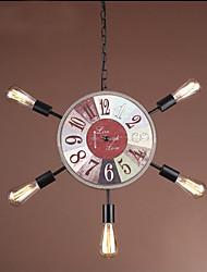 40W Lampe suspendue ,  Traditionnel/Classique Plaqué Fonctionnalité for Style mini MétalSalle de séjour / Chambre à coucher / Salle à