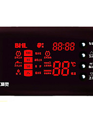 Solar energy full intelligent water level and water temperature display instrument