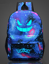 Bag Inspired by Pocket Monster Ash Ketchum Anime Cosplay Accessories Bag Black / Blue / Orange / Purple / Ink Blue Canvas Male / Female