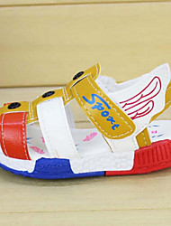 Boy's Sandals Summer Comfort / Open Toe / Sandals Tulle Casual Flat Heel Others Black / Brown