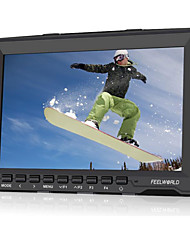 "7"" IPS Ultra-thin Design 1280x800 HDMI HD On-Camera Field Monitor with Peaking Focus FW759"