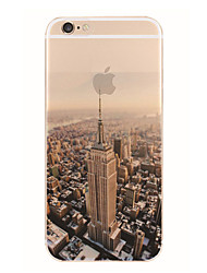New York Pattern TPU Soft Case for iPhone 7 7 Plus 6s 6 Plus SE 5s 5