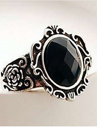 Gorgeous  Embellished Faux Gem Alloy Ring For Women Gothic  Ring Vampire