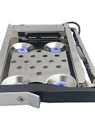 unestech st8211b sata in acciaio inox I / II / III 2.5internal disco rigido supporto caso 2TB