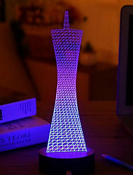 creativo USB 3D LED Night Light girovita
