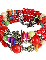 Women Agate Fashionable Daily Strand Bracelets