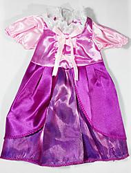 sharon robe de poupée princesse habiller vêtements de vinyle de 16 pouces accessoires robe main 3 ensembles de vent palais