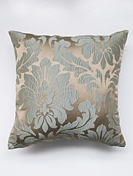 jacquard Cushion Cover-Cyan
