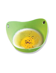 1 pcs Silicone Apparatus Fried Egg Apparatus Circle Microwave Products Cooking Styling Kitchen Gadget