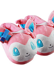Pocket Little Monster Sylveon With Ears Kigurumi Pajamas Warm Slippers With Collar and Heel Counter 28cm