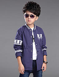 Boy's Cotton Spring/Autumn Baseball Kids Outerwear Jackets Coats