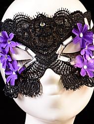 estilo sey máscara preta / branca do laço para o dia das bruxas decoração do partido mascarado masquerade