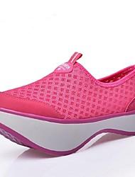 Sapatos Caminhada Feminino Preto / Azul / Vermelho Tule